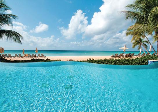 Stunning sandy beaches surround the three islands.